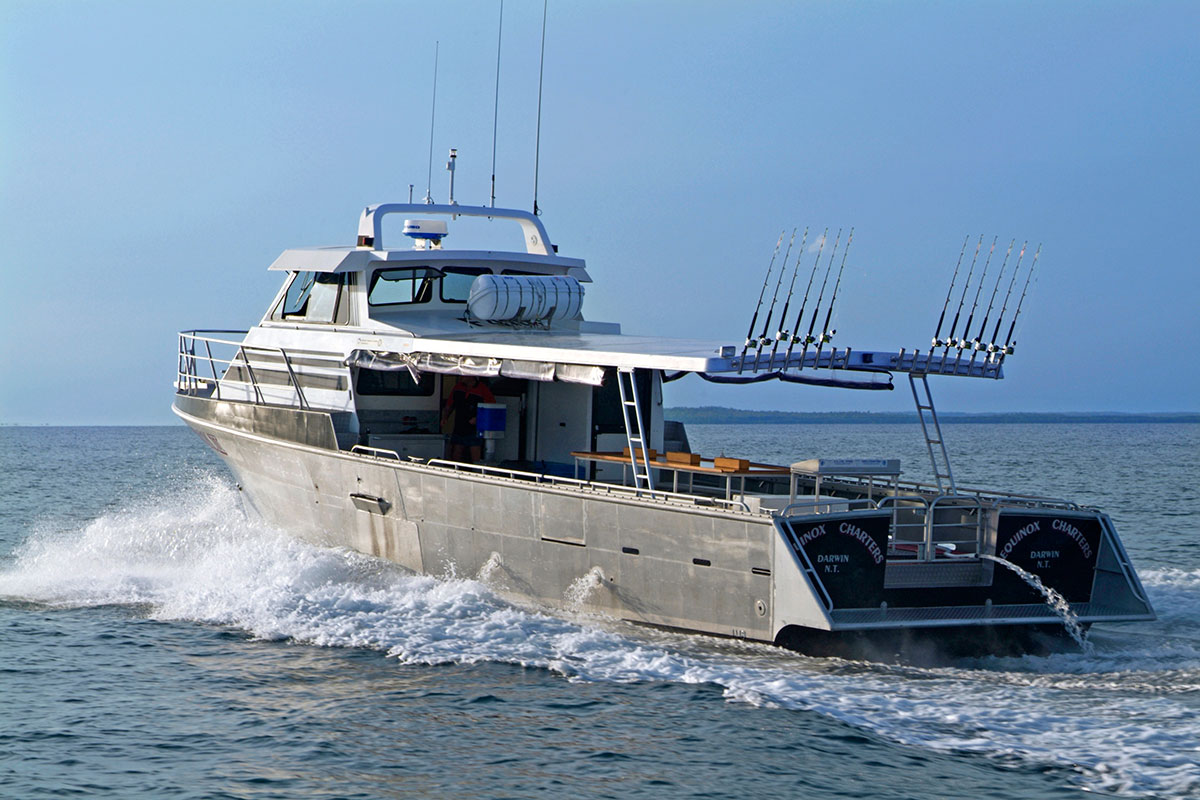 Bluewater fishing charters from Darwin