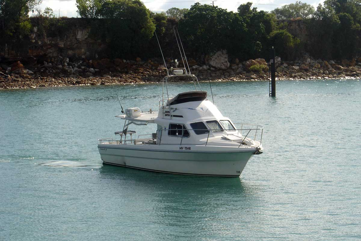 Bluewater fishing from Darwin